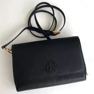 🌺Tory burch Bombe Flat wallet Crossbody bag
